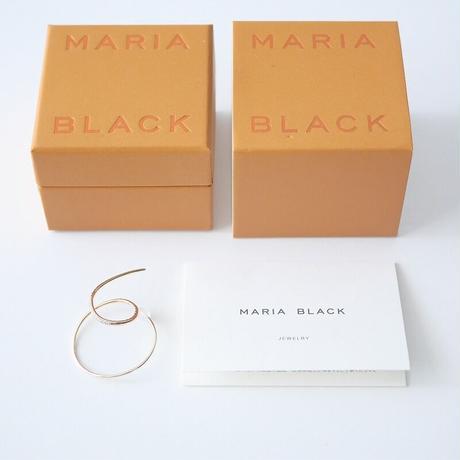 2020 未使用 / MARIA BLACK Fine Collection / Dream Catcher Pierced Earring - Yellow Gold /  2103-1142