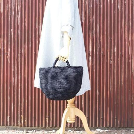 裂き編みバッグ マルシェ(LLサイズ)ブラック
