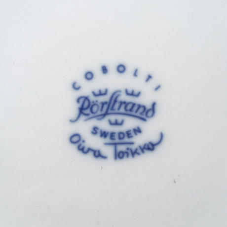 rorstrand  cobolti plate 24.5cm