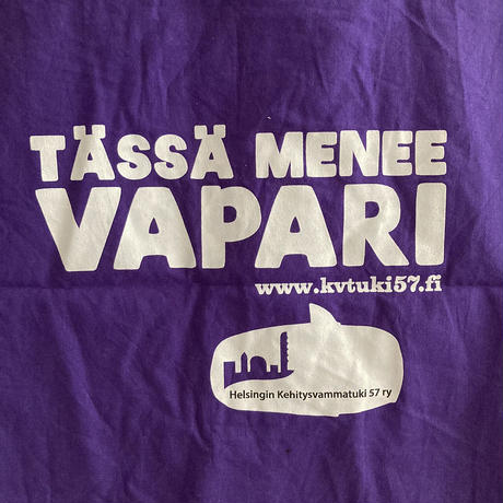 Helsingin kehitysvammatuki 57 bag