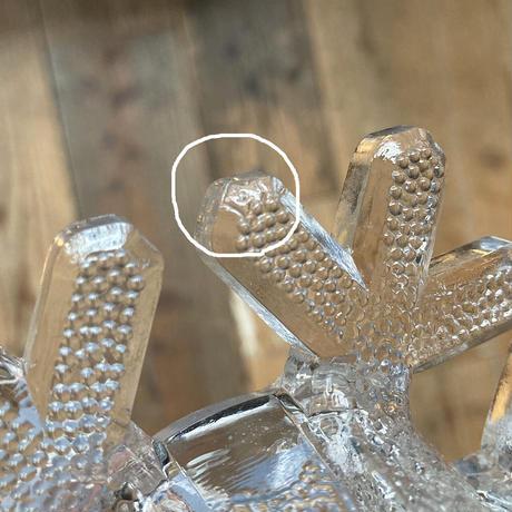 iittala snowcrystal candle holder B