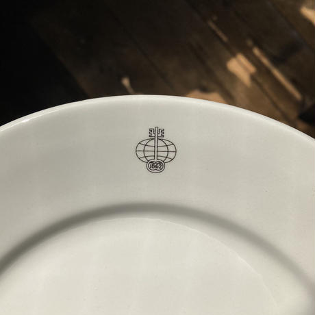 arabia bank logo 23cm plate