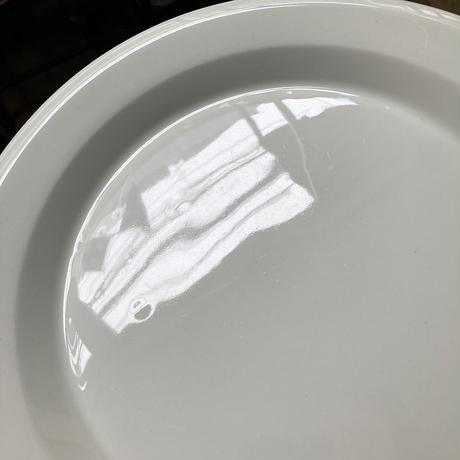 arabia faenza  plate 26cm white