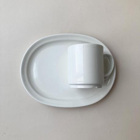 arabia  forte TV plate  & mug