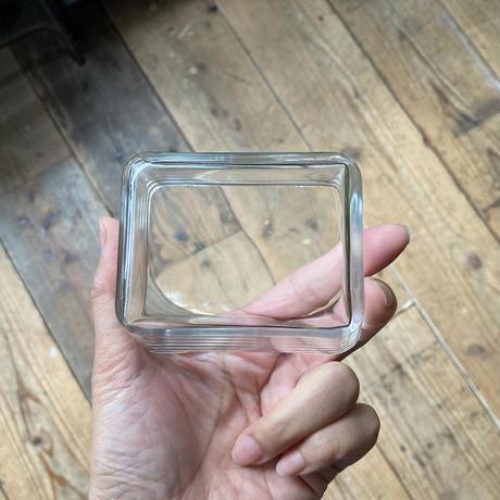 glass square bowl Finland