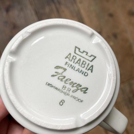 arabia faenza Mustaraita coffee  C/S black line