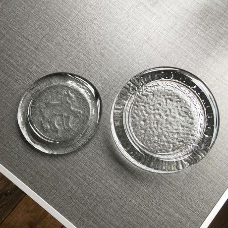 riihimaki  glass tray