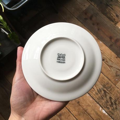 arabia harlekin cup saucer  white