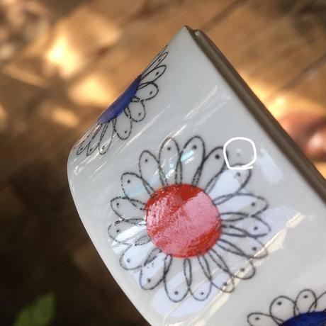 arabia pilkku egg holder  flower