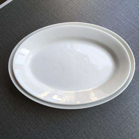 arabia  oval plate 27.5cm
