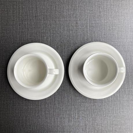 arabia faenza coffee  C/S white