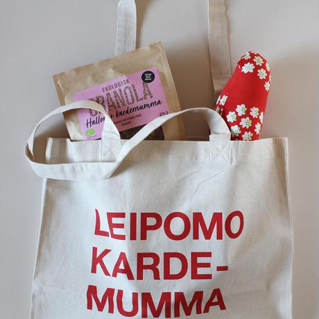 Leipomo Kardemumma original bag red