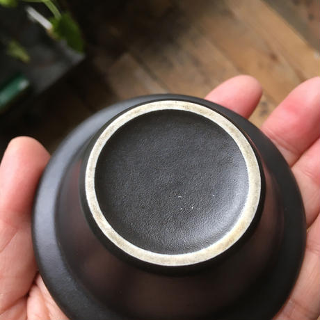 arabia  mini bowl  black