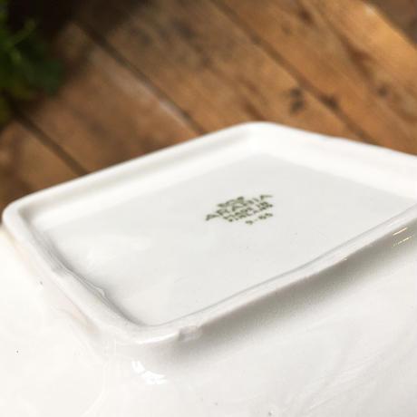 arabia square plate