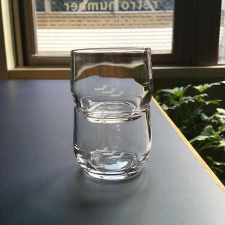 Finnair shot glass