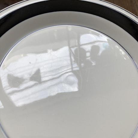 arabia faenza Mustaraita plate 17cm black line
