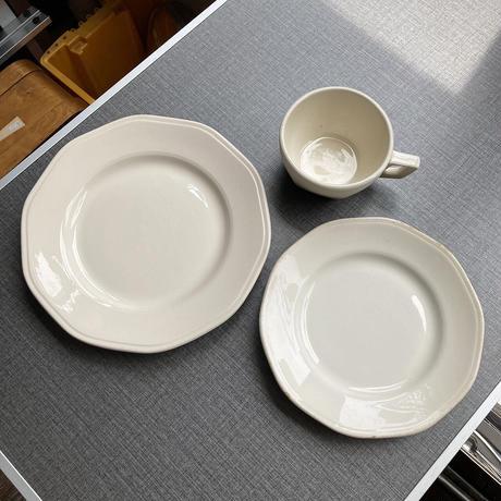 arabia moderna tea cup white
