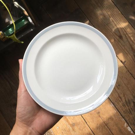 arabia   gray line plate