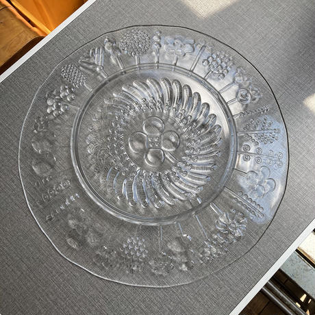 Finland flora big plate 35.5cm