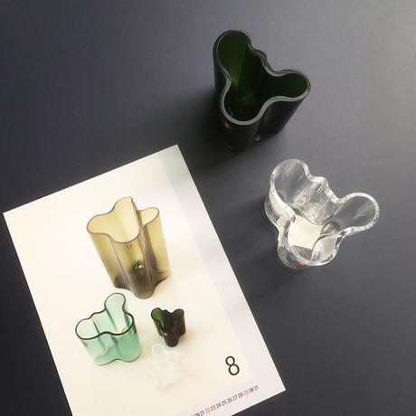 alvar aalto collection mini vase clear