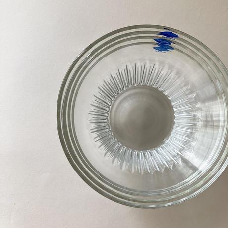 Nuutajarvi  glass bowl Tupa