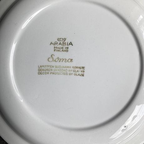 arabia  soma plate  21cm