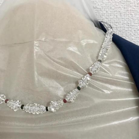 【クリスタル】水晶 トルマリン 天然石 ネックレス 本物 パワーストーン