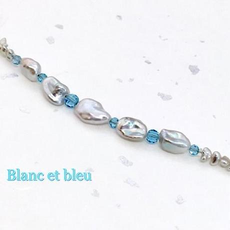 Blanc et bleu(白と青)