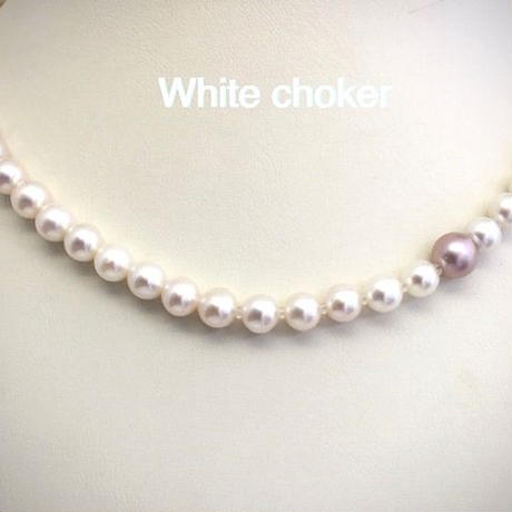 White Choker(ホワイトチョーカー)
