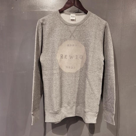 REW10 Decagon logo sweat