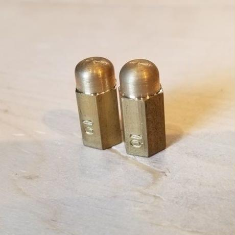 REW10 HEX BRASS VALVECAP 2pcs