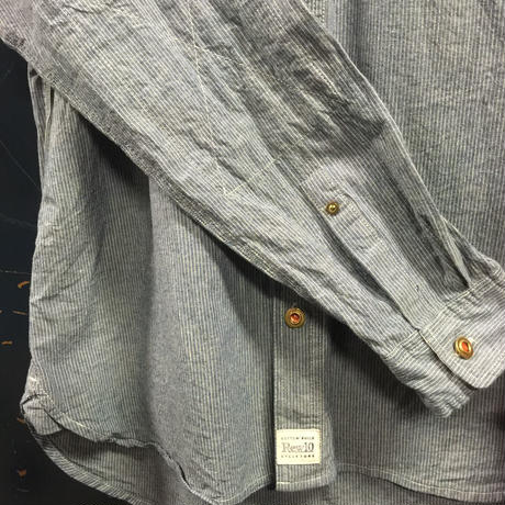 REW10 WORK CHAMBRAY STRIPE