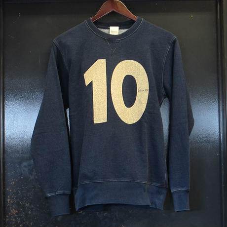 Rew10 No.10 Sweat Indigo