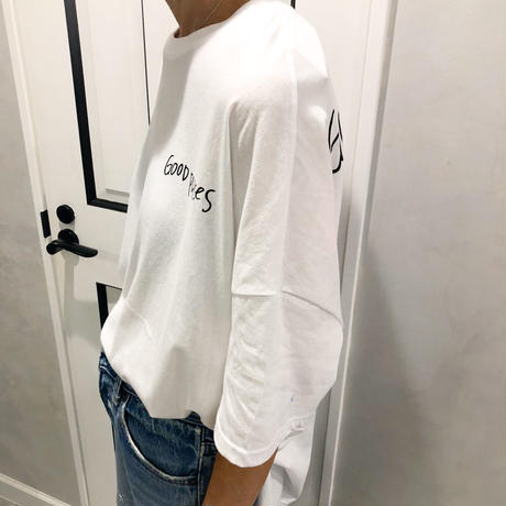 back photo tshirt (white)