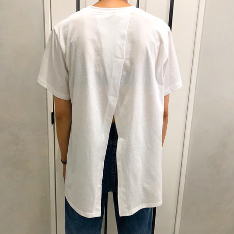 back slit photo tshirt