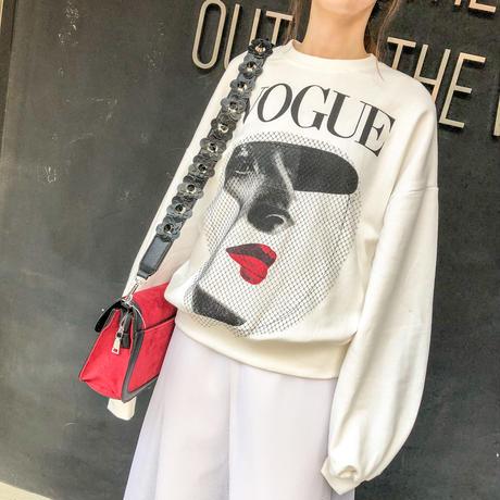 VOGUE trainer(white)