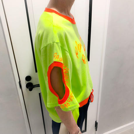 neon color tshirt (lime)