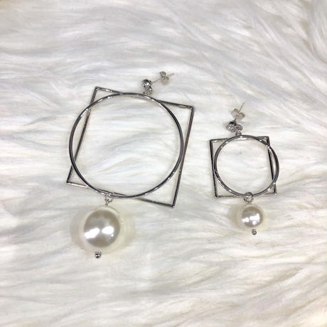 big motif pierce (silver)