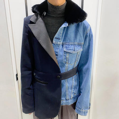 unique design denim jacket