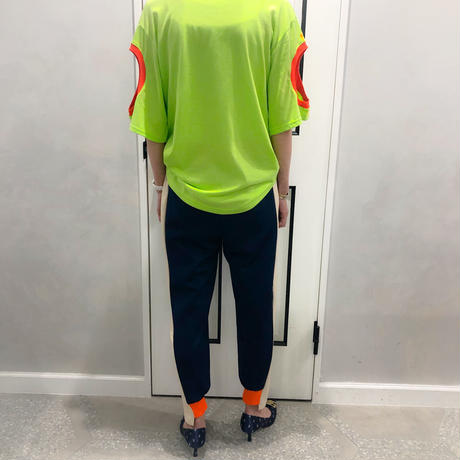 neon color pants (navy)