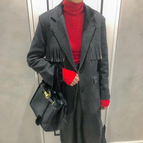 fringe tailored jacket