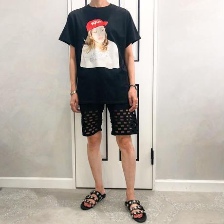 back slit photo tshirt