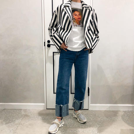 strip over size jacket