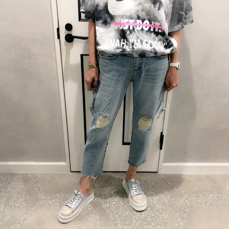 crush straight denim