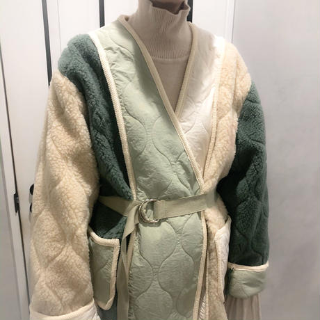 oversize buycolor boa jacket