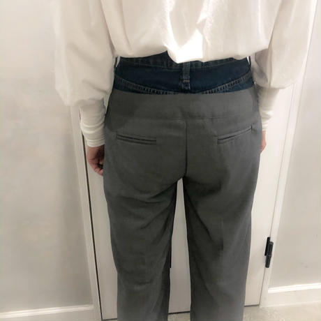 set style denim pants
