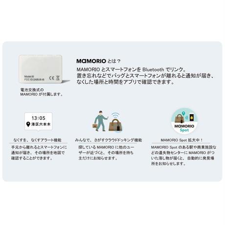 TRACKING TOTE / MAMORIO搭載
