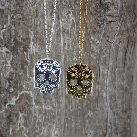 Kepala series - Skull Bracelet - Silver