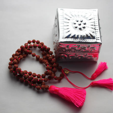 Necklace Rudraksha - 5mm(w/tin box)
