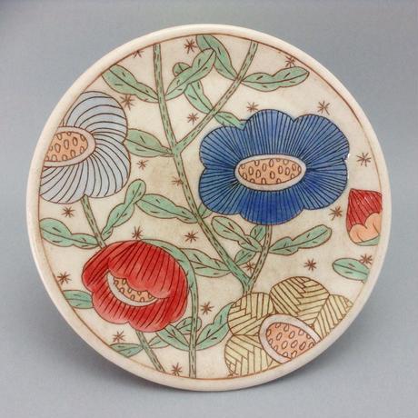 小皿 花 マルチ